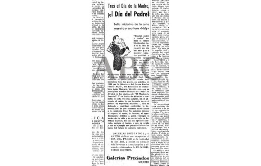 Artículo ABC Día del Padre