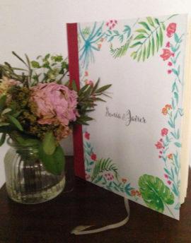 Libro de firmas sonia y javier 2