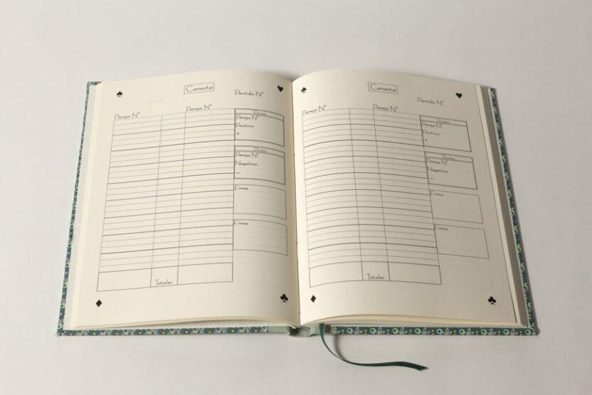 Cuaderno Canasta Interior