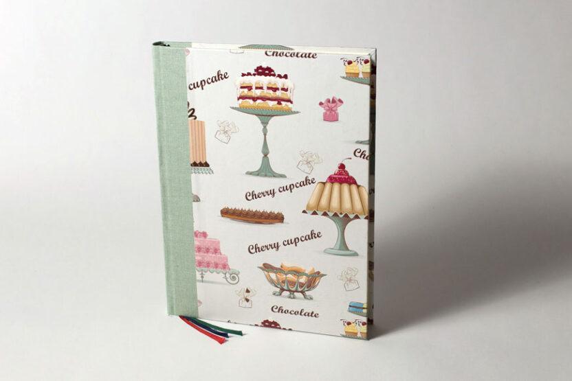 Cuaderno de cocina Cupcakes