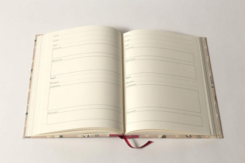 Cuaderno de Eventos Interior