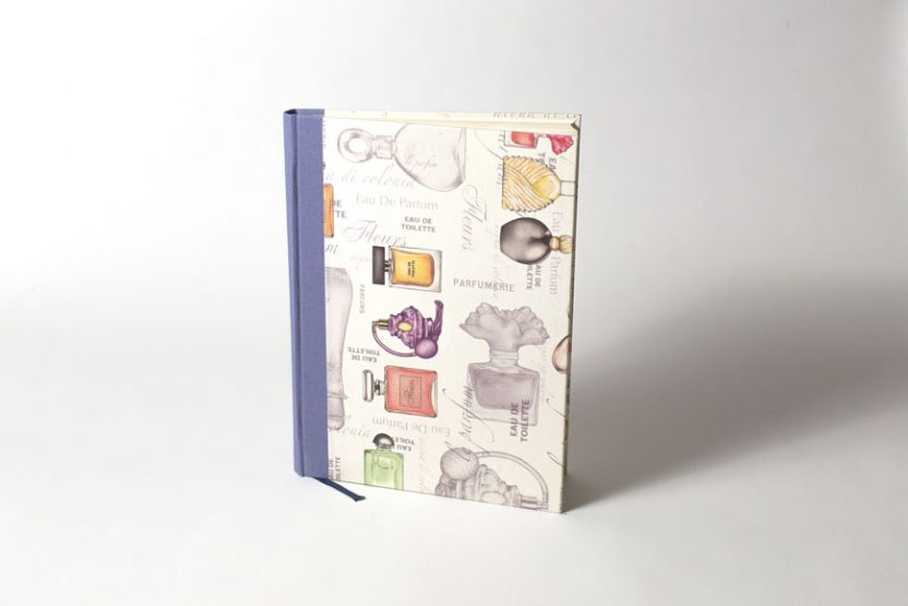 Cuaderno de Eventos Perfume
