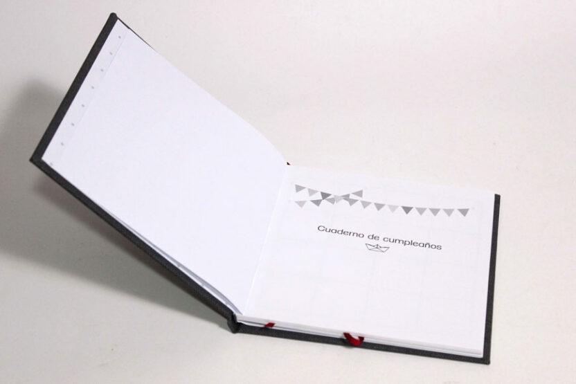 Cuaderno Memodate Cumpleaños Abierto