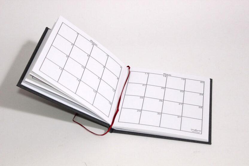 Cuaderno Memodate Cumpleaños Vista Mes
