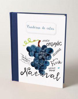 Cuaderno de Vinos Uvas