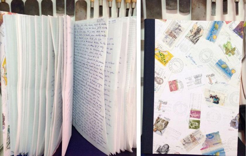 Libro Cartas de Amor