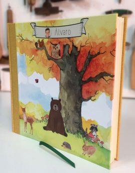 Álbum Personalizado Comunión Bosque