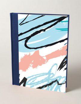 Cuaderno en Blanco Abstracto
