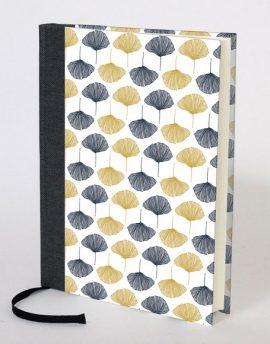 Cuaderno en Blanco Hojas Ginko
