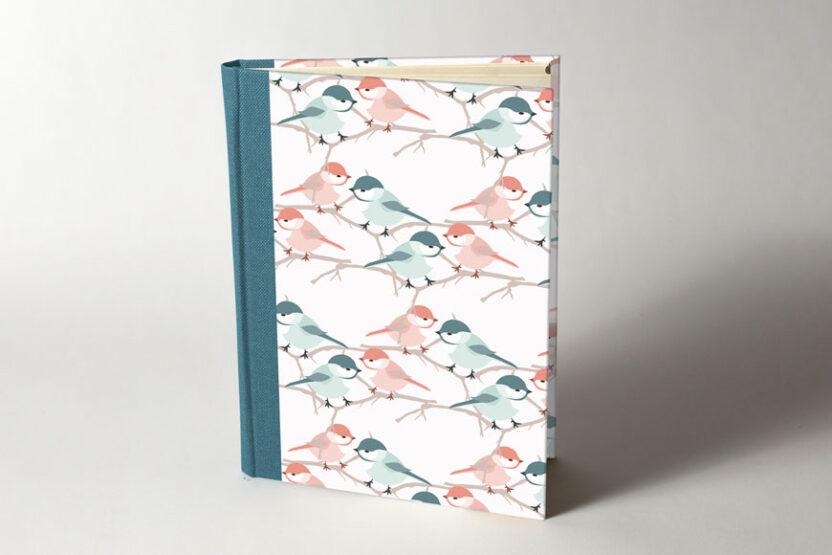 Cuaderno en Blanco Pajaritos