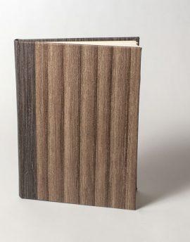 Cuaderno en Blanco Vinilo Café
