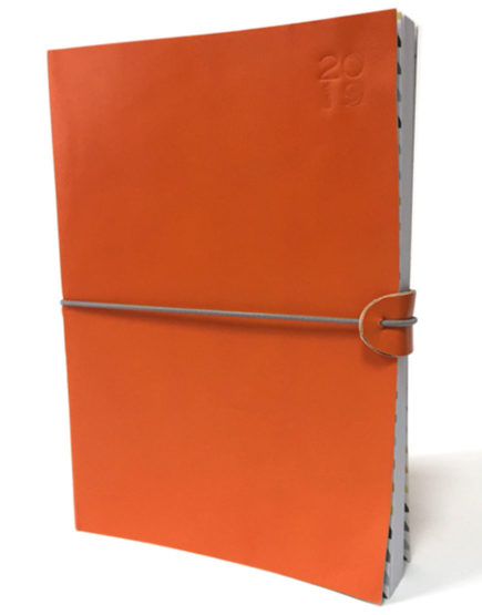 Agenda 2019 Piel Naranja