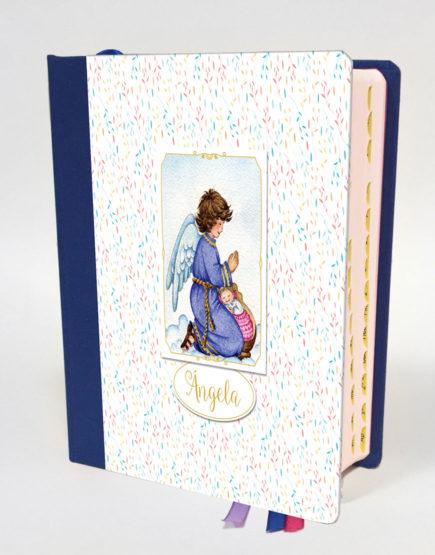 Biblia Ángel Pétalos