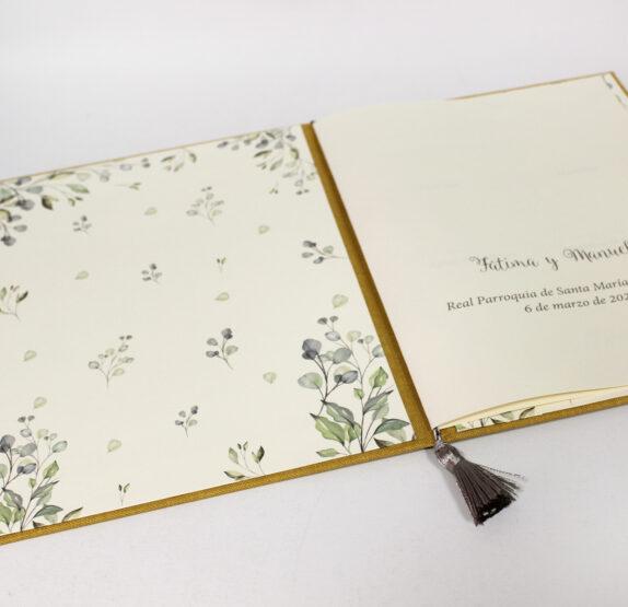 Carpeta de testigos para bodas