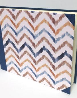 album papel y tela antik zigzag