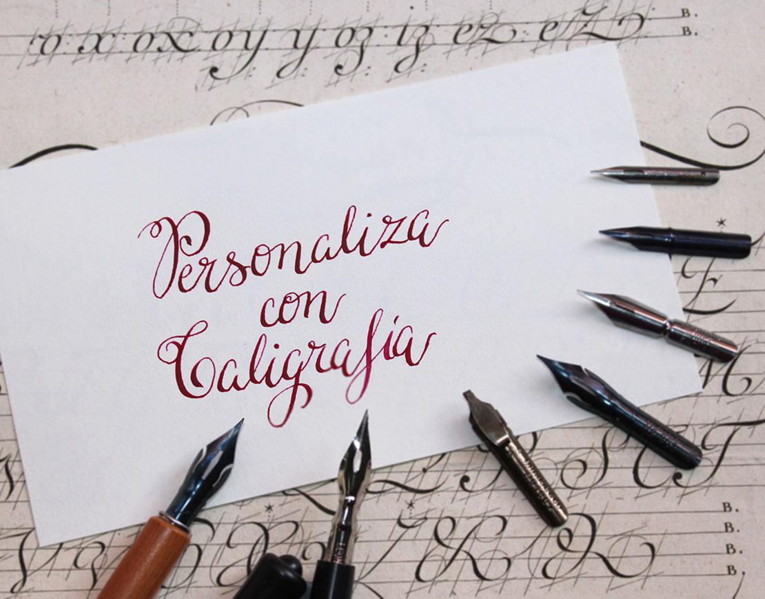 personaliza-con-caligrafía